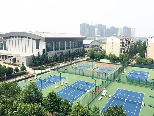网球场地案列工程